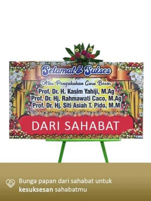 Papan Bunga Congratulation Gorontalo 06