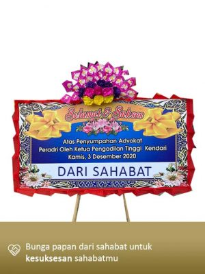 Papan Bunga Congratulation Kendari 02