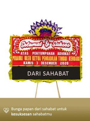 Papan Bunga Congratulation Kendari 03