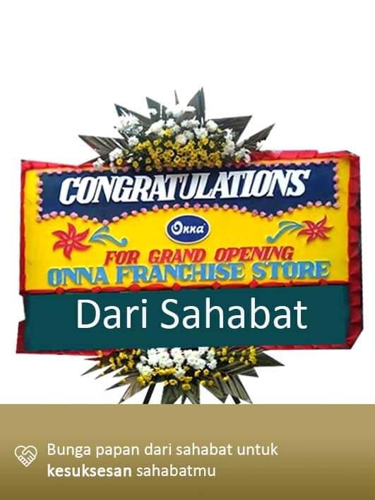 Papan Bunga Congratulation Lampung 06