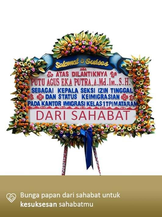 Papan Bunga Congratulation Mataram 02