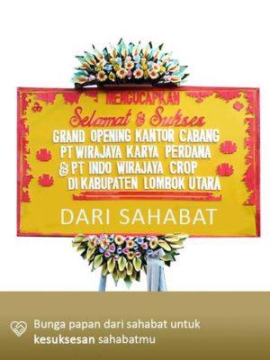 Papan Bunga Congratulation Mataram 04