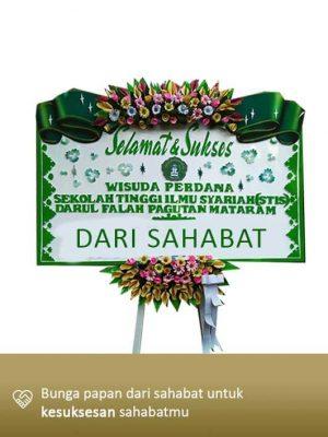 Papan Bunga Congratulation Mataram 06