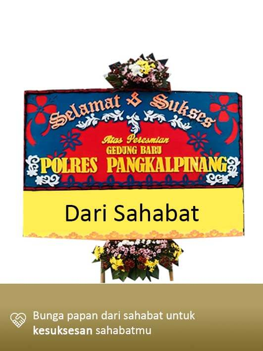 Papan Bunga Congratulation Pangkal Pinang 05