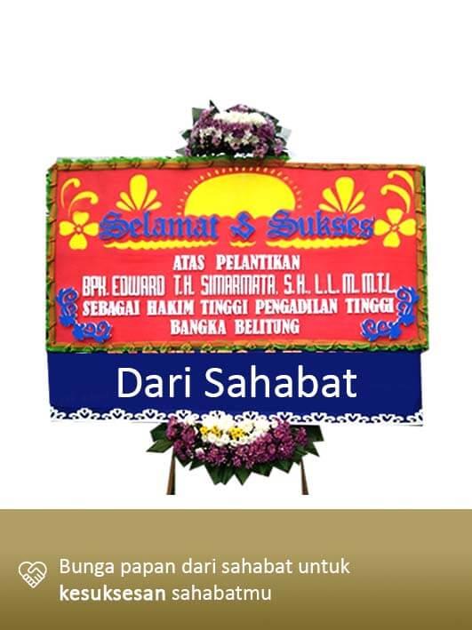 Papan Bunga Congratulation Pangkal Pinang 06