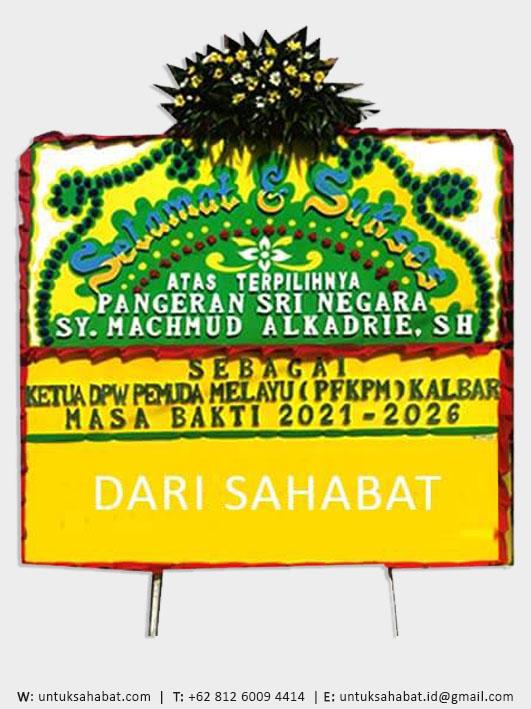 Papan Bunga Congratulation Pontianak 04