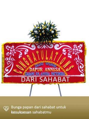 Papan Bunga Congratulation Pontianak 05