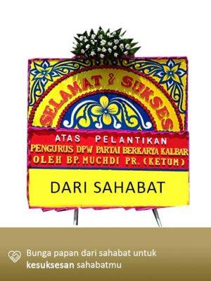 Papan Bunga Congratulation Pontianak 06