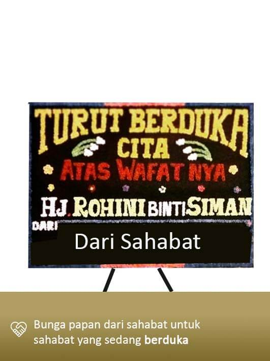 Papan Bunga Dukacita Lampung 02