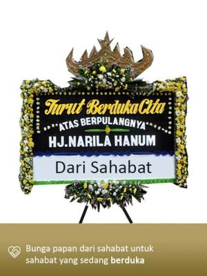 Papan Bunga Dukacita Lampung 03