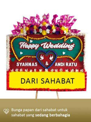 Papan Bunga Wedding Kendari 05