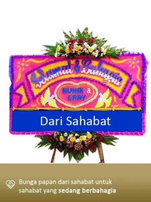 Papan Bunga Wedding Lampung 03