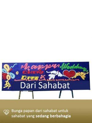 Papan Bunga Wedding Lampung 05