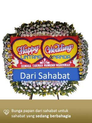 Papan Bunga Wedding Lampung 06