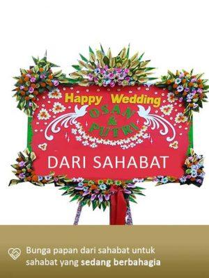 Papan Bunga Wedding Mataram 10