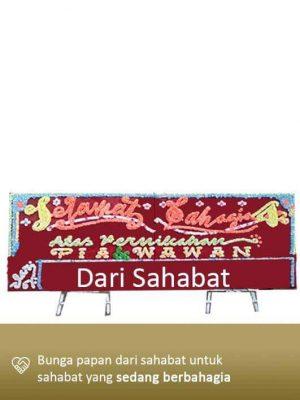 Papan Bunga Wedding Tanjung Pinang 01