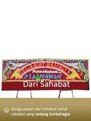 Papan Bunga Wedding Tanjung Pinang 02
