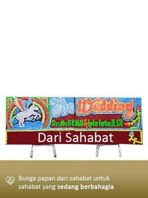 Papan Bunga Wedding Tanjung Pinang 03