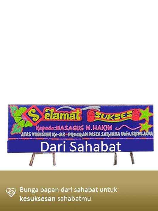 Papan Bunga Congratulation Palembang 01