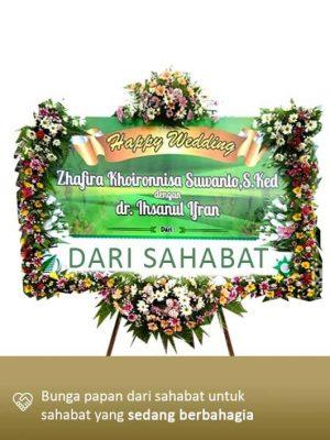 Papan Bunga Wedding Palangkaraya 03