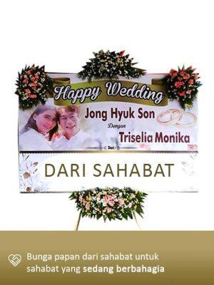 Papan Bunga Wedding Palangkaraya 04
