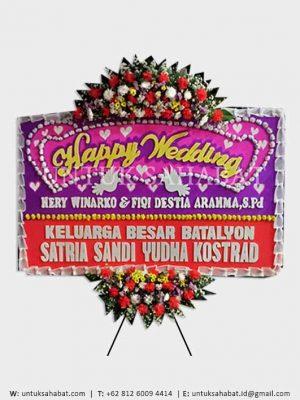 Karangan Bunga Wedding Bogor 05