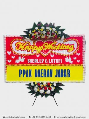 Karangan Bunga Wedding Bogor 06