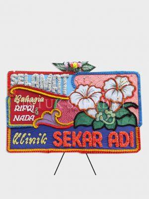 Karangan Bunga Wedding Padang 01