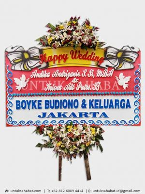 Karangan Bunga Wedding Yogyakarta 04