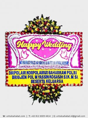 Karangan Bunga Wedding Bandung 07