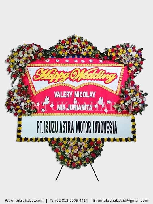 Karangan Bunga Wedding Bandung 08